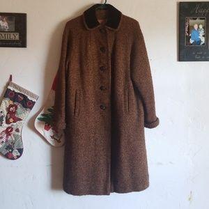 Vintage 1960s tweed coat Mary lane